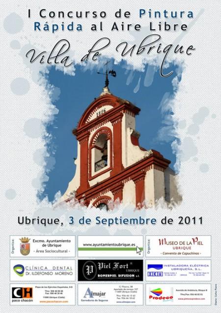 """I Concurso de Pintura Rápida al Aire Libre """"Villa de Ubrique"""""""