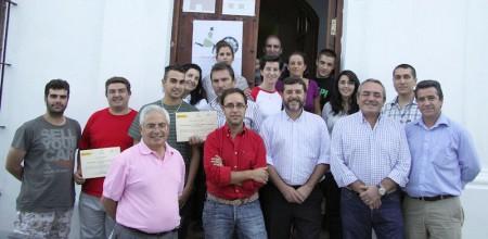 Participantes en la clausura del curso de Grazalema.