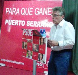 González Cabaña, en Puerto Serrano.