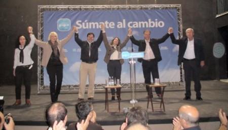 Mitin de Teófila Martínez en Villamartín.