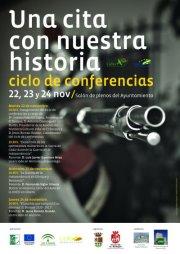 Cartel del ciclo de conferencias de El Bosque.