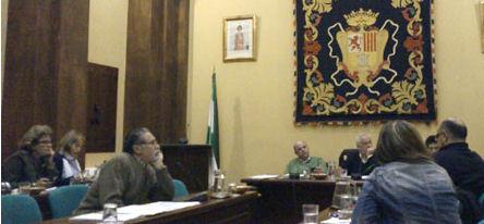Pleno celebrado en Ubrique el 29 de febrero de 2012.