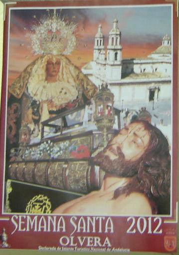 Cartel de Semana Santa de Olvera.