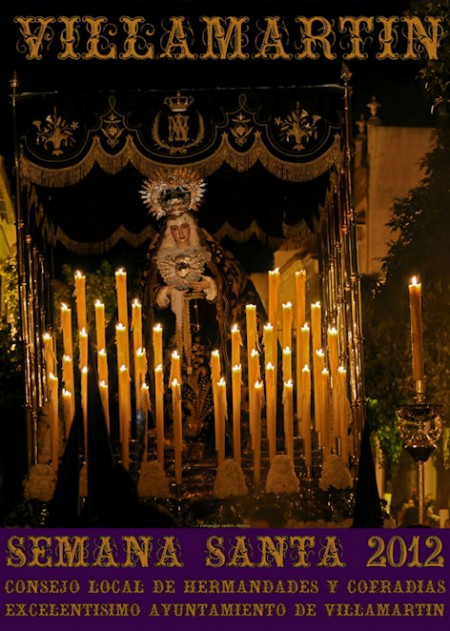 Cartel de Semana Santa de Villamartín.