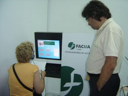 Vídeo conferencia en Olvera.