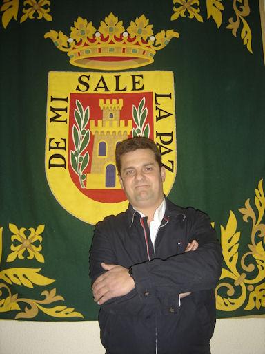 El alcalde de Olvera, Fernando Fernández (IU).