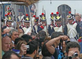 Recreación histórica de Algodonales (Foto: http://www.dosdemayo.org).