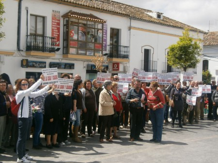 Concentración en Prado del Rey.