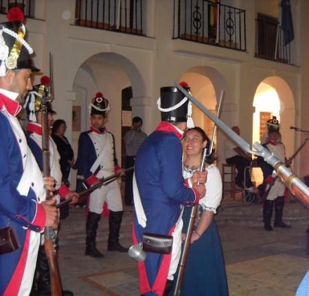 Recreación de la Asociación Histórico Cultural Villa de El Bosque, en Benaocaz.