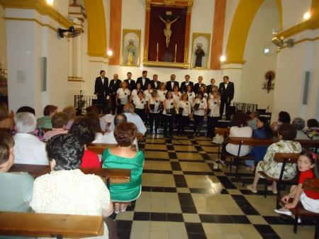 Concierto en la iglesia Nuestra Señora de Guadalupe de El Bosque.