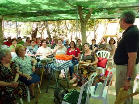 Asistentes al Encuentro de Cáritas.