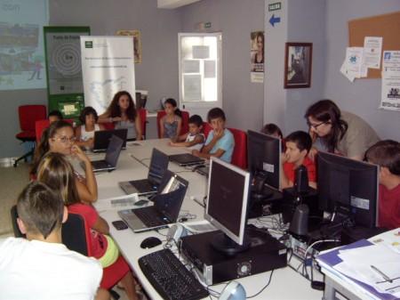 Participantes en el evento en El Gastor.