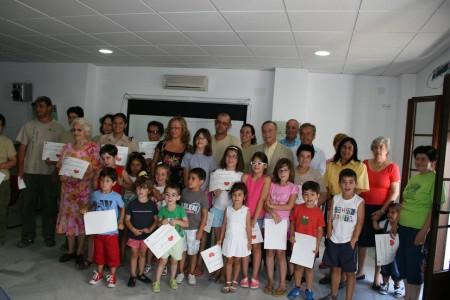 Participantes de Villaluenga.