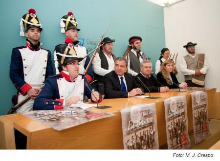 Presentación de la III Recreación Histórica Villa de El Bosque.