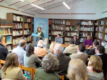 Ana Belén García, durante su intervención.