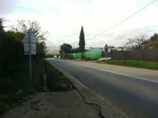 Carretera de Setenil mal señalizada.