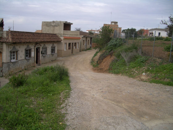 Barriada rural de Arcos.