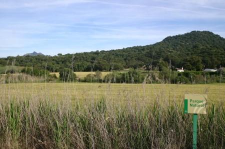 Terrenos de El Cruce, en el Parque Natural Los Alcornocales, que el PGOU declara urbanizables.