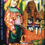 Cartel anunciador del Carnaval de Bornos de 2013.