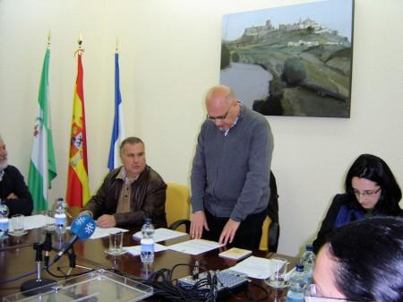 José Luis del Río Cabrera toma posesión del cargo de alcalde de Olvera.
