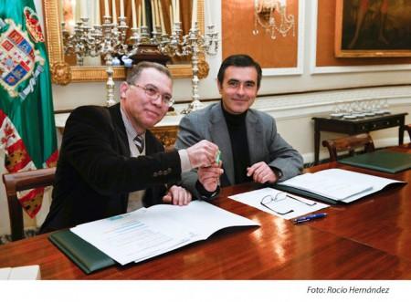 Eduardo Párraga y Ángel Acuña.