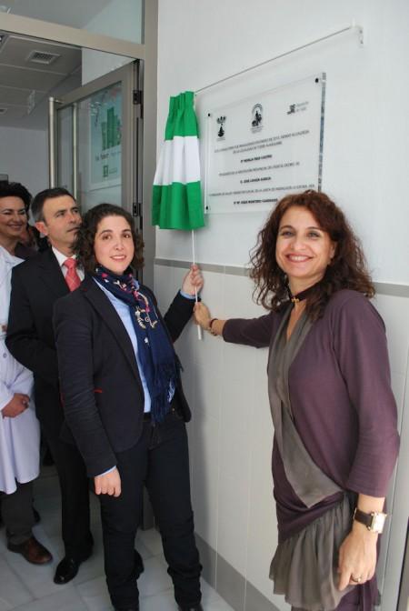 La consejera de Salud, en la inauguración del centro sanitario de Torre Alháquime.