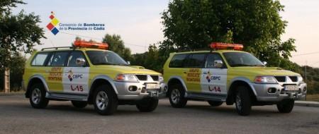 Vehículos del Grupo de Rescate en Montaña 085