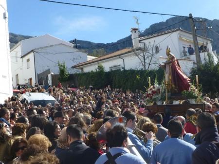 Cada 3 de febrero, cita con San Blas.