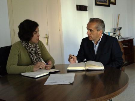 Noelia Ruiz y Alfonso Moscoso.