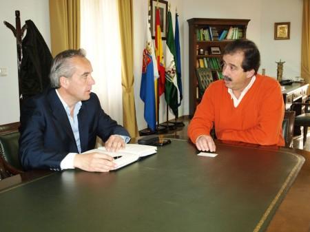 Alfonso Moscoso y Cristóbal Rivera.