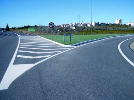 Interseccion Villamartin A-384, en el punto kilométrico 21,600.