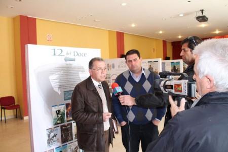El diputado provincial Eduardo Párraga y el alcalde de Espera, Pedro Romero, también diputado provincial.