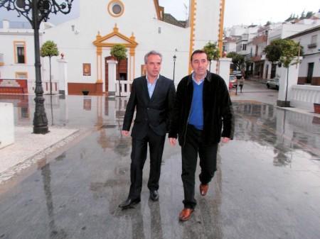 Alfonso Moscoso y Jesús Téllez.