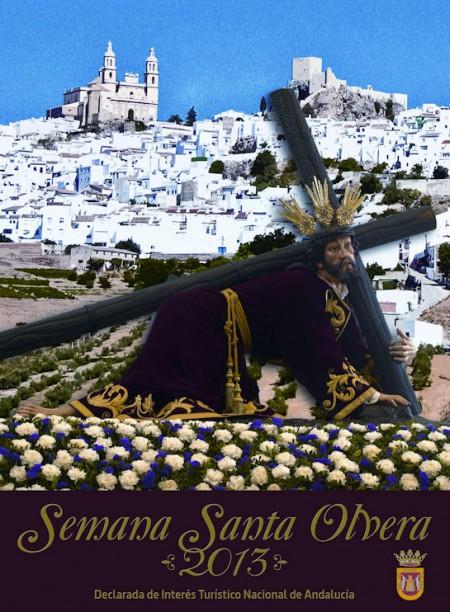 Cartel de la Semana Santa de Olvera.