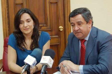 Inmaculada Gil y José Loaiza.