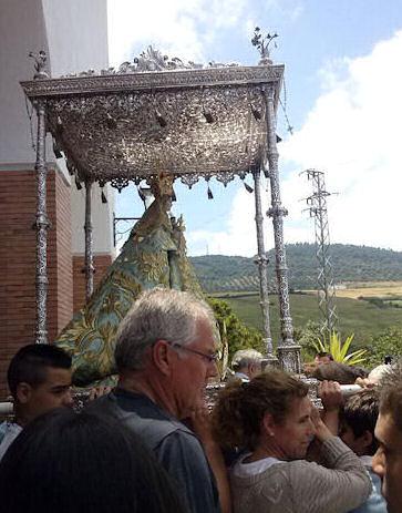 Procesión de la Virgen de las Montañas.