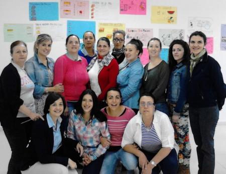 Participantes en el taller.