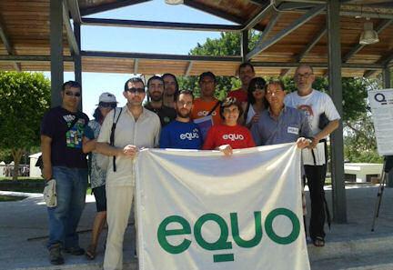 Miembros de Equo asistentes a la asamblea.