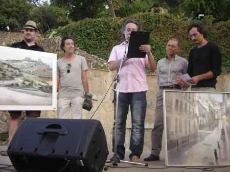 Primer y segundo premios del certamen de Olvera.