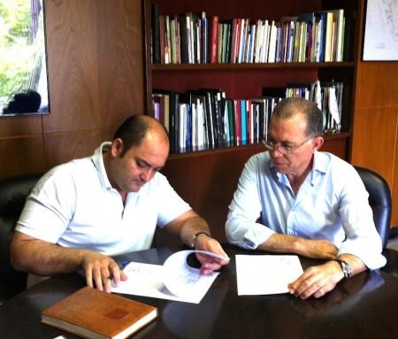 Fracisco Gómez y Eduardo Párraga.