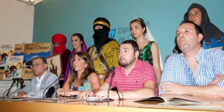 Presentación de las fiestas de moros y cristianos de Benamahoma (Foto: Carmen Romero).