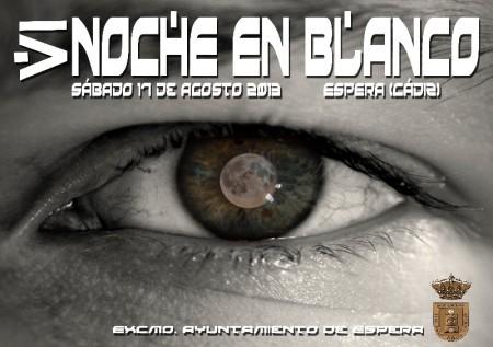 Cartel de la VI Noche en Blanco.