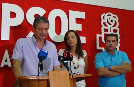 Representantes del PSOE en Arcos.