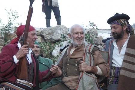 Álvaro de Luna, en la recreación de Grazalema.