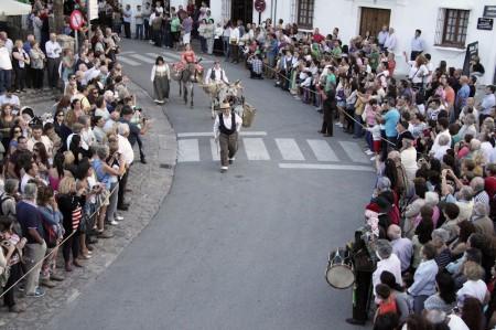 Público asistente a la recreación histórica.