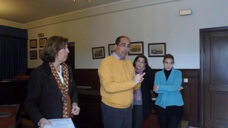 Inervención del alcalde de Villamartín.