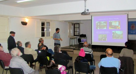 Conferencia de Jesús Román en la Casa de la Cultura de Ronda.