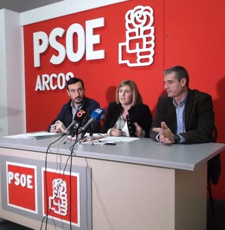 Fernando López Gil, Irene García e Isidoro Gambín.