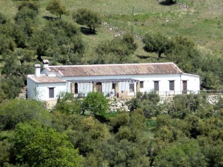 Casa de Prieto en el término de Grazalema.