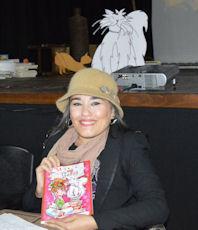 La autora, Ana Márquez.